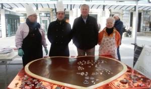 Inaugurazione Art & Ciocc cuore cioccolato 3