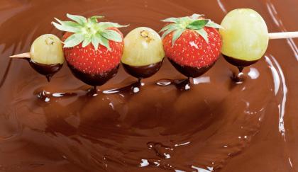 frutta al cioccolato