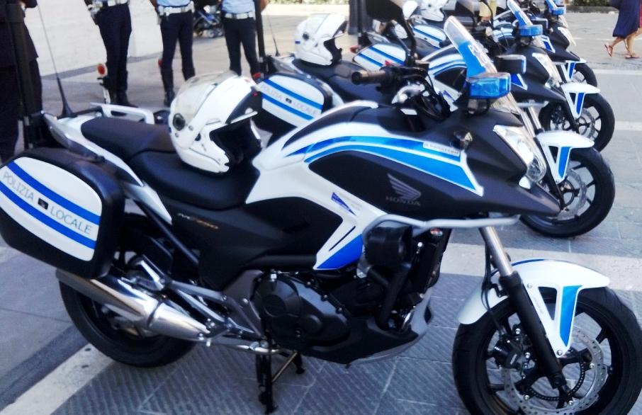 nuove moto polizia municipale savona