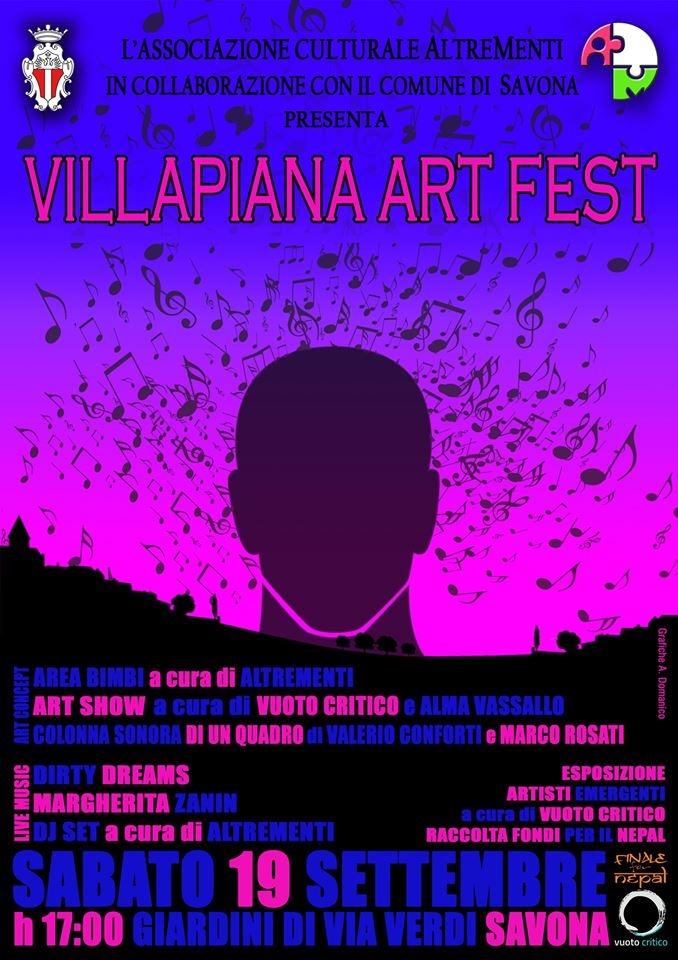 VILLAPIANA ART FEST 19 settembre 2015