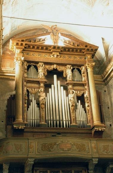 L'organo della cattedrale