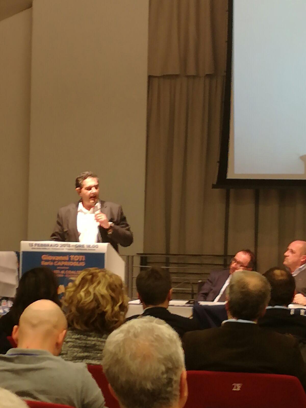 Presentati i candidati della coalizione di centrodestra