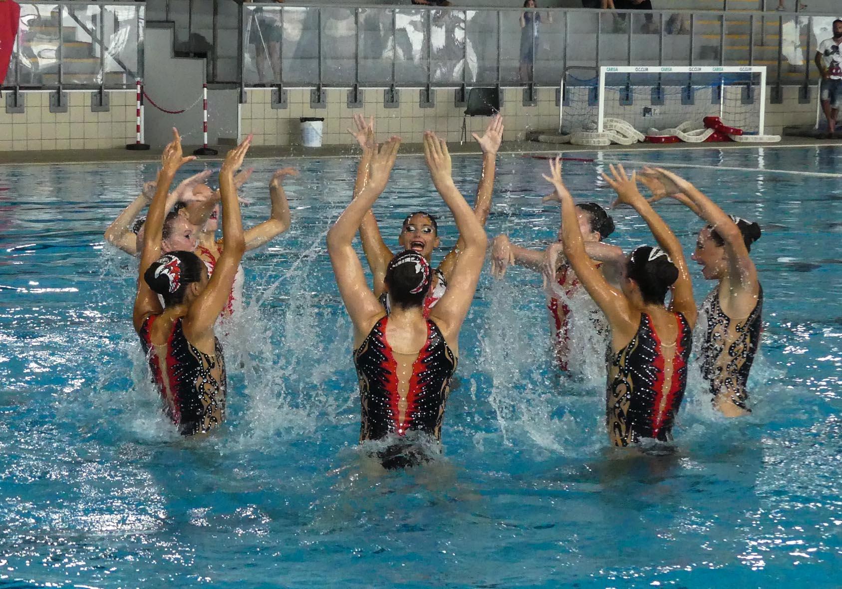 A savona i campionati estivi di nuoto sincronizzato il giornale di savona e provincia - Piscina zanelli savona ...