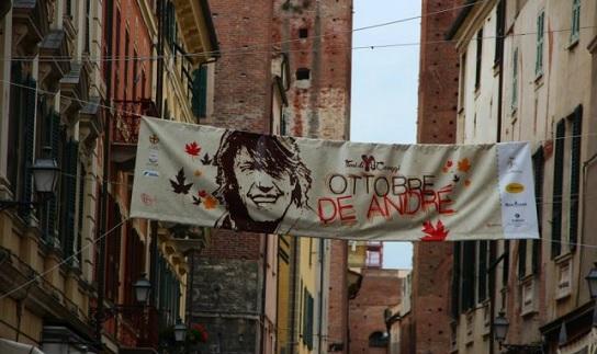 """""""Ottobre De Andrè"""" spopola in Piazza del Popolo"""